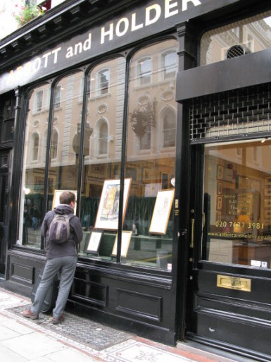 Abbott and Holder Gallery in Bloomsbury London