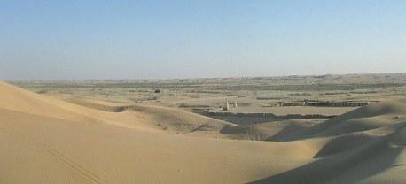 Abu Dhabi desert dwellings