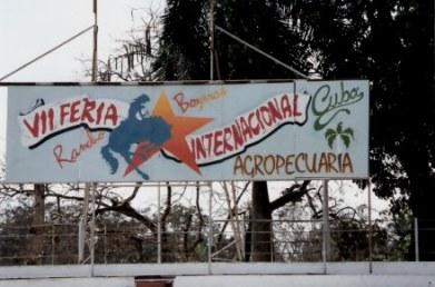 Agricultural Fair (Feria Internacional Agropecuaria) Havana-Cuba