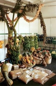 Agricultural produce display-Agricultural Fair- Havana-Cuba