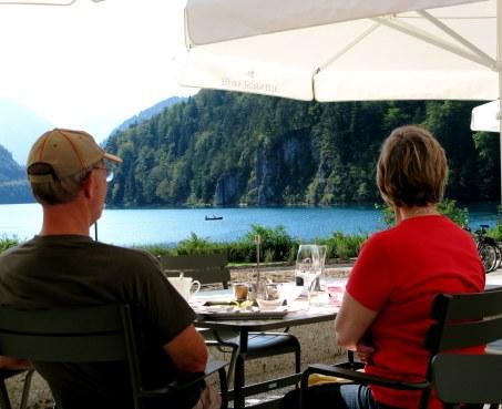 Alpensee terrace restaurant Hohenschwangau