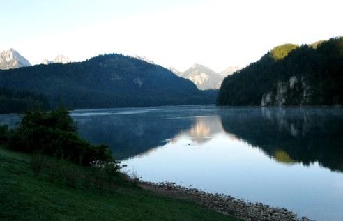 Alpsee Hohenschwangau Bavaria