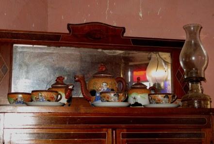 Antique china in Trinidad de Cuba