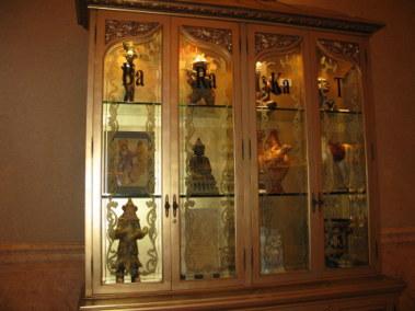 Antiques cabinet- Emirates Palace Hotel Abu Dhabi