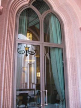 Arched reflections Emirates Palace Hotel Abu Dhabi