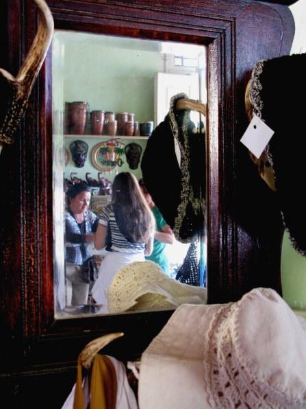 Artisan goods in shop of Trinidad de Cuba