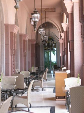 Balcony Emirates Palace Hotel Abu Dhabi