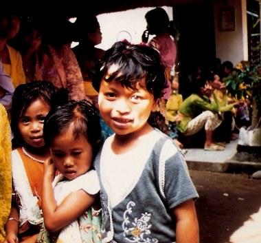 Bali village children