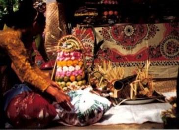 Bali village wedding gifts