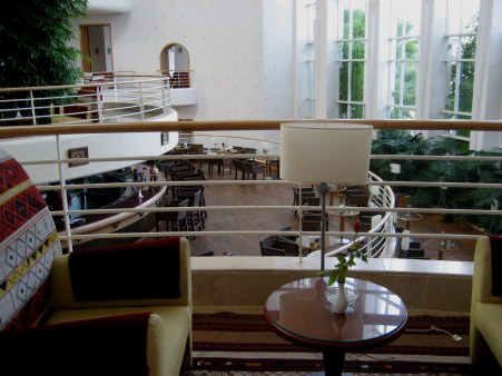 Bar of Kathargo hotel in Hammamet Tunisia