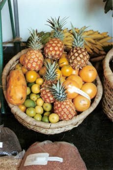 Basket of fruits-Agricultural Fair - Havana-Cuba