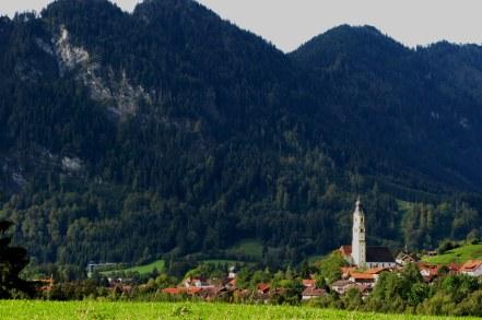 Bavarian valley village