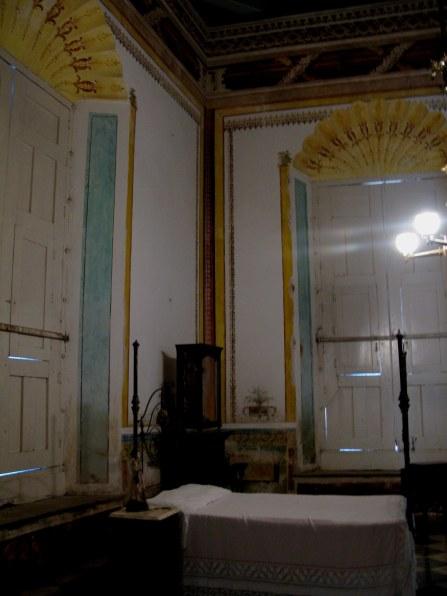 Bedroom in Palacio Cantero Trinidad de Cuba