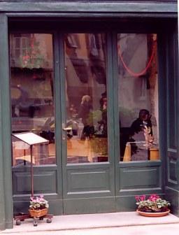 Bergamo Alta Restaurant reflections
