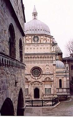 Bergamo Alta Colleoni Chapel