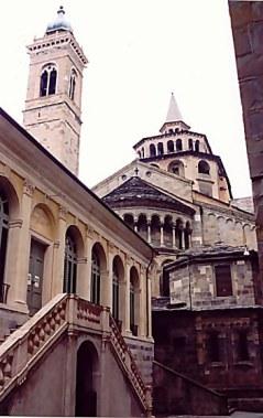 Bergamo Alta Santa Maria Maggiore