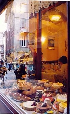Bergamo Alta cake shop