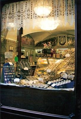Bergamo Alta chocolate shop