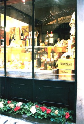 Bergamo Alta wine shop