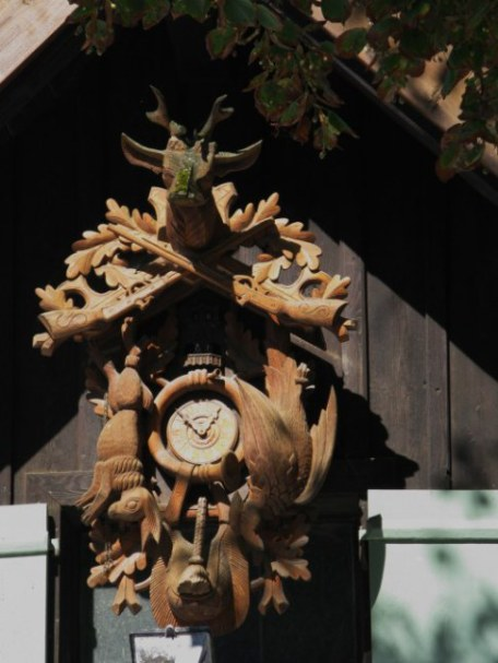Black forest cuckoo clock in Hohenschwangau Bavaria