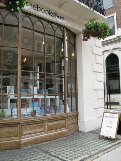 Bookshop in Bloomsbury London