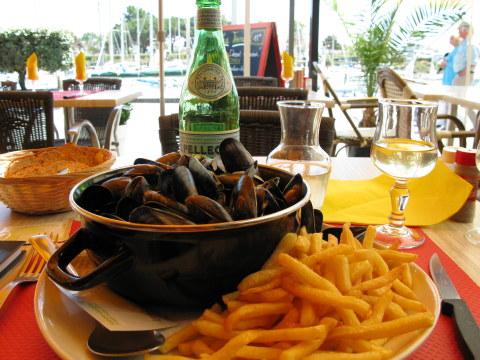 Boyardville Île d'Oléron moules frites