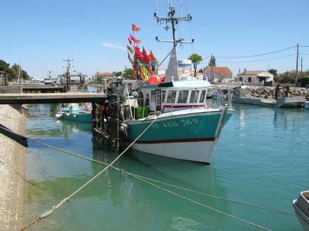 Boyardville Île d'Oléron fishing boat