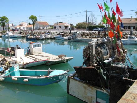 Boyardville Île d'Oléron fishing boats