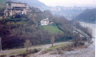 Brembilla Valley -Bergamo in the distance