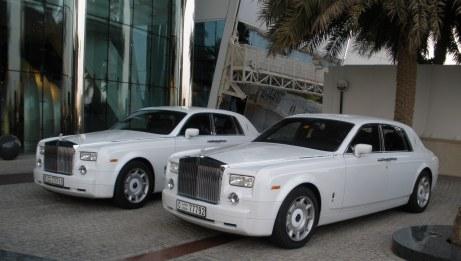 Rolls Royce Hotel Limousine Burj Al Arab Dubai