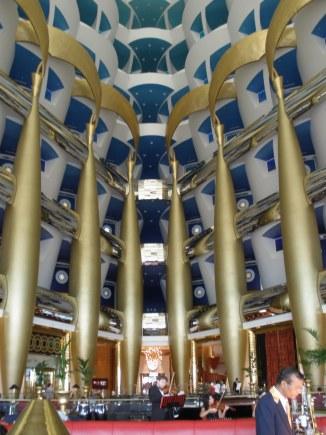 Sahn Eddar atrium bar Burj Al Arab Dubai
