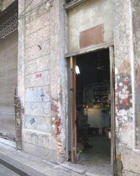 Carpentry shop in  Havana Cuba