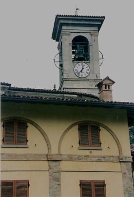 Castello di Clanezzo bell tower