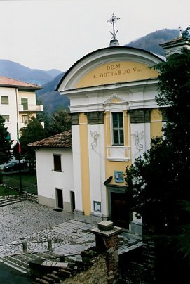 Castello di Clanezzo Chapel