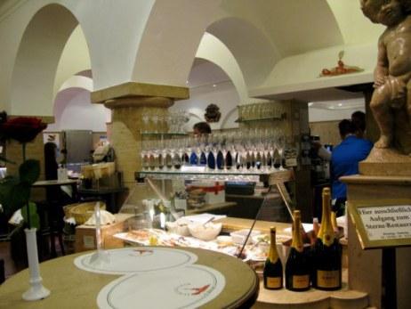 Champagne at  Dallmayr store Munich
