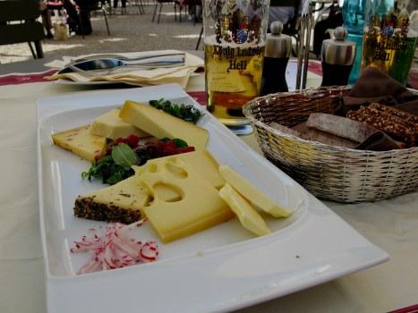 Cheese platter Alpenrose am See Hohenschwangau