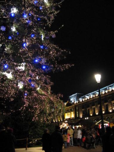 Christmas Market Strasbourg in the Place Kléber