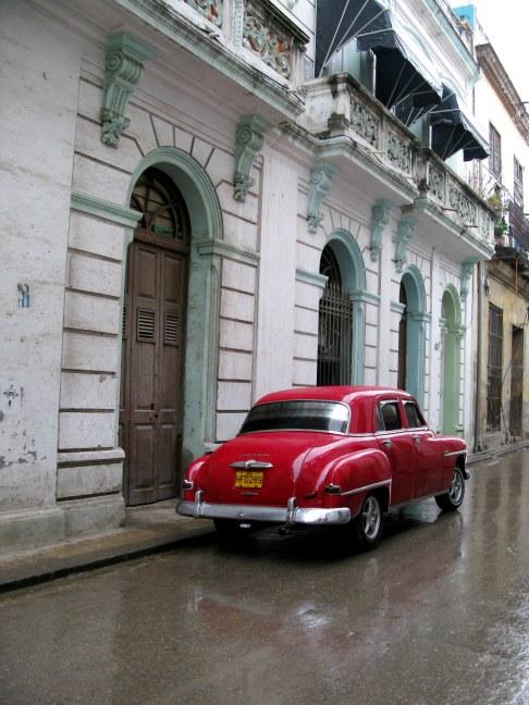 Classic Dodge in Havana Old Town Cuba