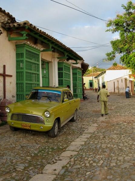 Classic Ford Consul in Trinidad de Cuba