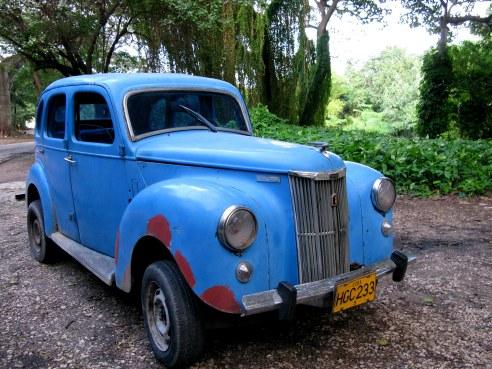 Classic Ford Prefect Almendares Park Cuba