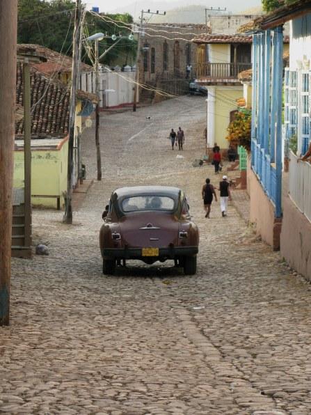 Classic car Trinidad de Cuba