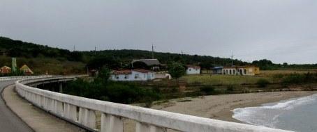 Coast road Bay of Pigs Cuba