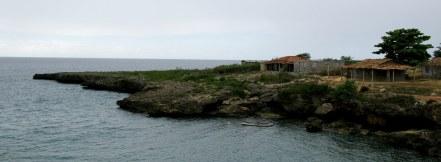 Coastline hamlet Bay of Pigs Cuba