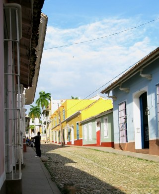 Colourful houses of Trinidad de Cuba