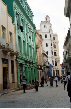 Colourful restored buildingd of Habana Viejo