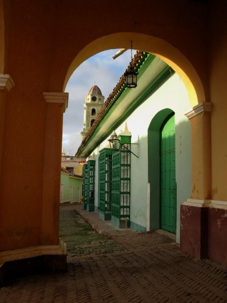 Colourful window grills of Trinidad de Cuba