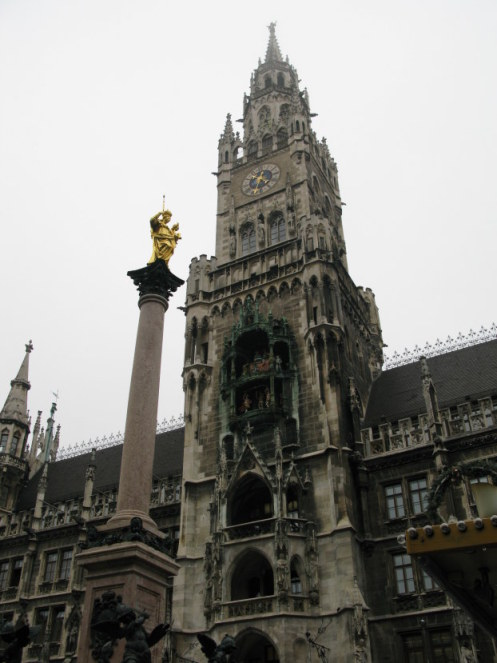 Column of Saint Mary Mareinplatz Munich