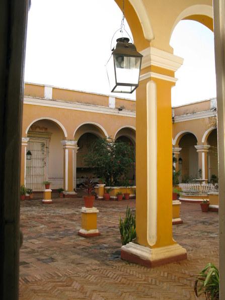 Courtyard of Palacio Cantero Trinidad de Cuba