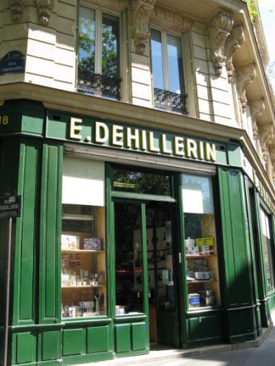 Dehillerin shop for cooks in Paris