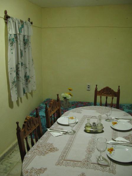 Dining room Hostal La Negra Trinidad de Cuba